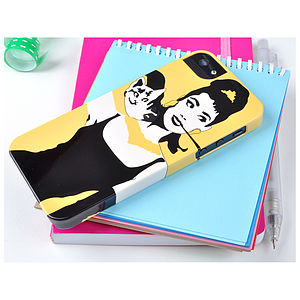 Audrey Hepburn Case For IPhone And Samsung - bags & purses
