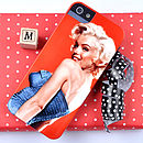 Marilyn Monroe Close Up Case for IPhone 5
