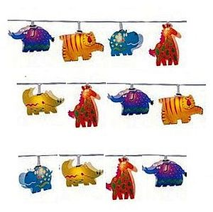 Child's Jungle Animals String Fairy Lights - lighting