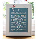 Personalised Sayings And Phrases Art Print