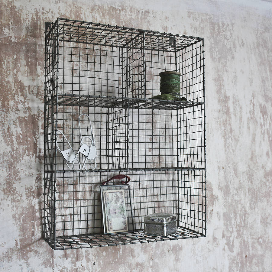 wire shelf rack by nkuku. Black Bedroom Furniture Sets. Home Design Ideas