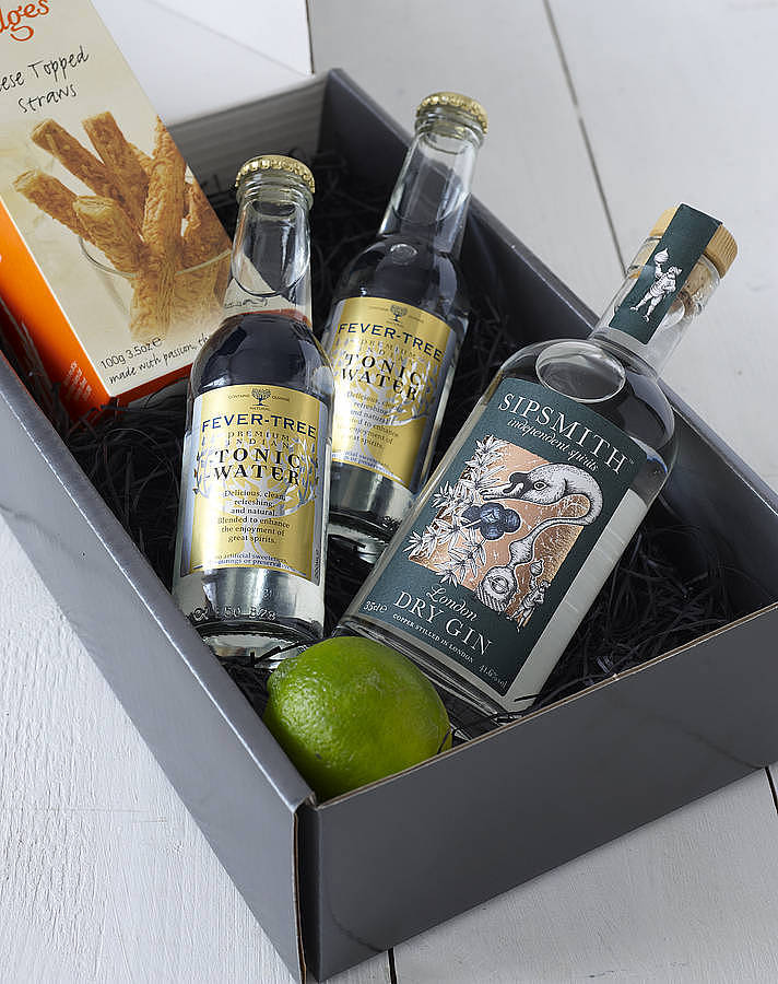 The Ultimate Gin And Tonic Kit Gift By Whisk Hampers