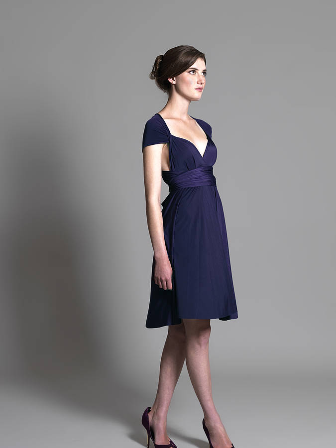 multiway knee length dress by in one clothing - notonthehighstreet.com