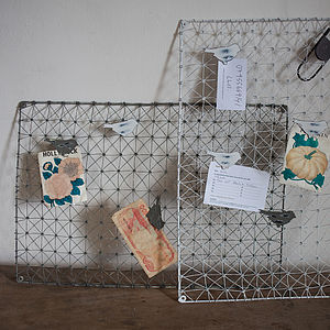 Bird Peg Board - dining room