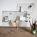 Bird Peg Board