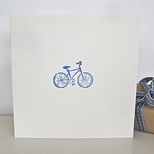 Handmade Bicycle Card - cards