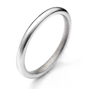 White Gold Halo Ring - wedding rings