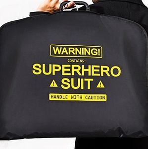 Super Hero Suit Carrier - bags & luggage