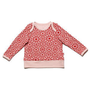 Organic Patterned Baby T Shirt