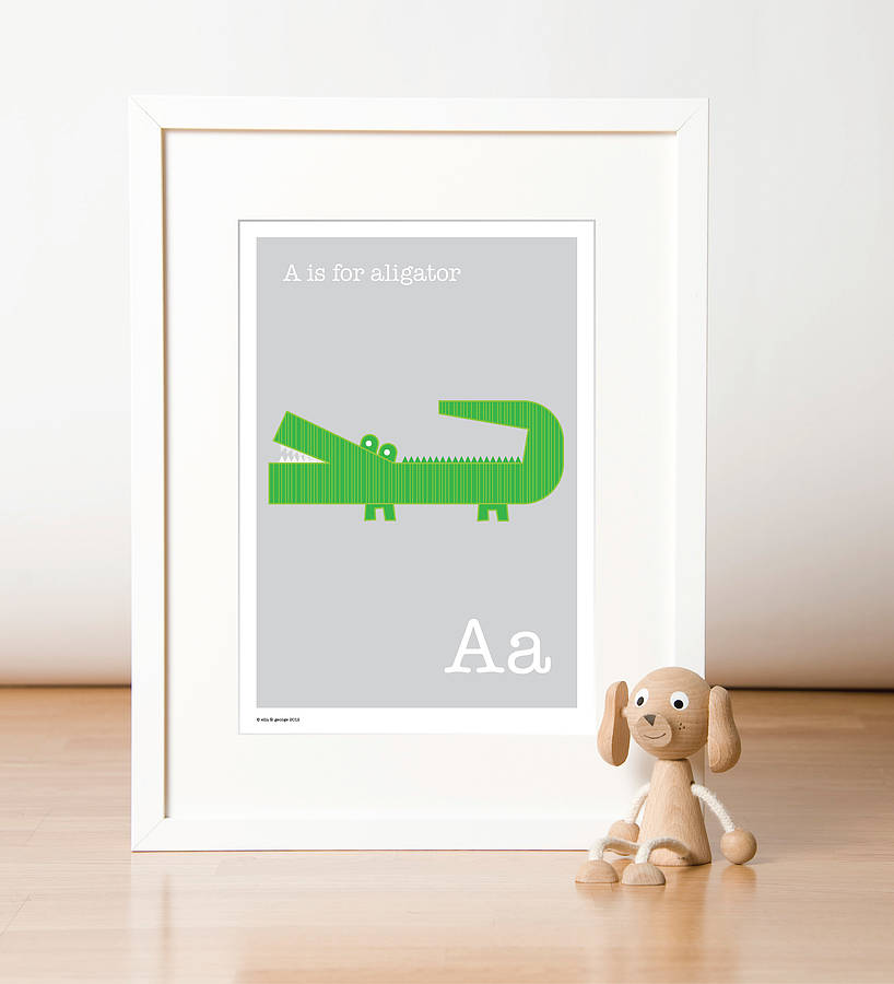 Animal Alphabet Letter Prints