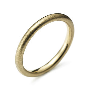 Yellow Gold Halo Ring - jewellery