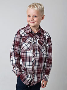 Boy's Long Sleeve Larry Shirt - view all sale items