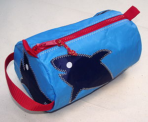 Shark Wash Bag - bags, purses & wallets