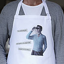 Personalised Married Life Apron