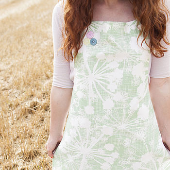 Apple Green Cow Parsley Apron