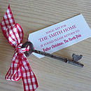 Personalised Santa's Christmas Key