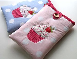 Cupcake Kindle Cosies - laptop bags & cases