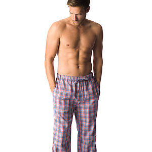Men's Brushed Cotton Pyjama Bottoms - men's fashion