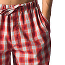 Men's Brushed Cotton Tartan Pyjamas