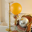 Metallic Big 'Bling Balloon' With Tails