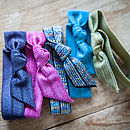 Ribbon Glitter Hair Ties