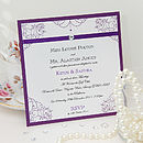 Vintage Affair Invitation