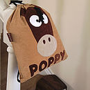 Personalised Horace the Horse Nursery Bag