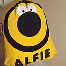 Personalised Bumble Bee Nursery Bag