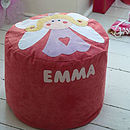 Personalised Medium Size Florence Fairy Bean Bag