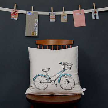 Printed Cushion Bicycle