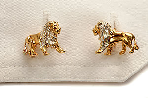 Lion Cufflinks - men's accessories