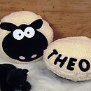 Personalised Woolley Sheep Cushion