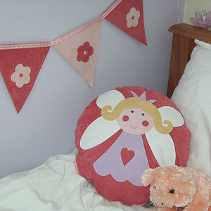 Heart And Flower Decorative Bunting Banners - bunting & garlands