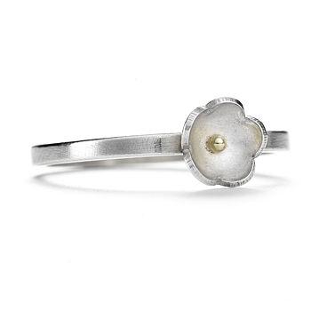 Single Daisy Ring- 7mm