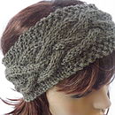 Knitted Alpaca Headband