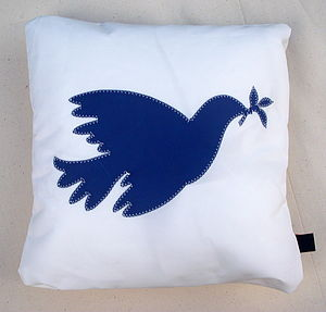 Dove Cushion - decorative accessories