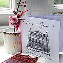 Personalised Wedding Venue Stamp