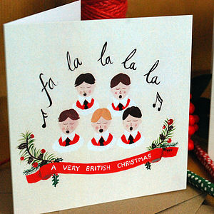 Personalised 'Kings Choir' Christmas Cards