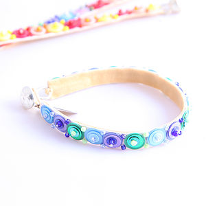 Girls Set Of Two Rainbow Bright Bracelets