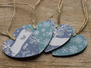 Christmas Heart Set