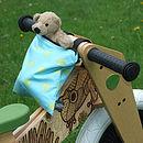 Child's Spot Print Scooter Or Bike Bag