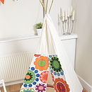 Floral Play Teepee
