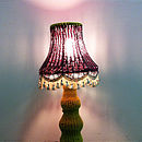 Hand Wool Knitted Lamp