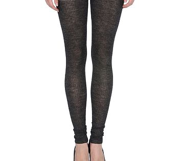 Alpaca Leggings In Charcoal