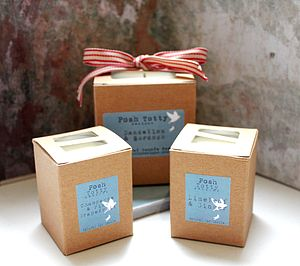 Posh Totty Essential Oil Candles - table decorations