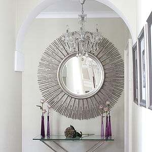 Inca Contemporary Sun Mirror - mirrors