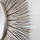 Inca Contemporary Sun Mirror