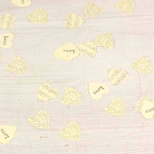 Love Heart Table Confetti - table decorations