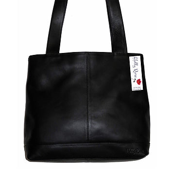 Leather Shopper Shoulder Bag Over 20% Off