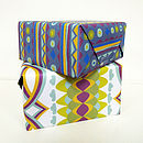 Bold Pattern Wrapping Paper Pack